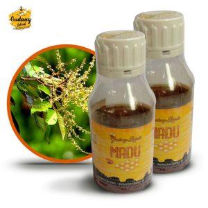 madu murni rambutan dihasilkan oleh lebah yang digambalakan dari sumber nektar pohon rambutan, bersumber dari nektar alami bukan buatan maupun oplosan.
