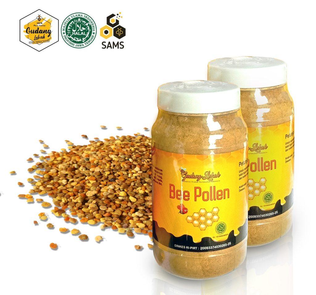 Beepollen Asli Indonesia - Tak hanya madu, beepollen juga memiliki banyak manfaat yang baik untuk kesehatan tubuh.